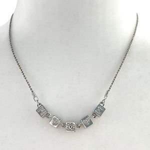 Swarovski MOM Double Sided Necklace
